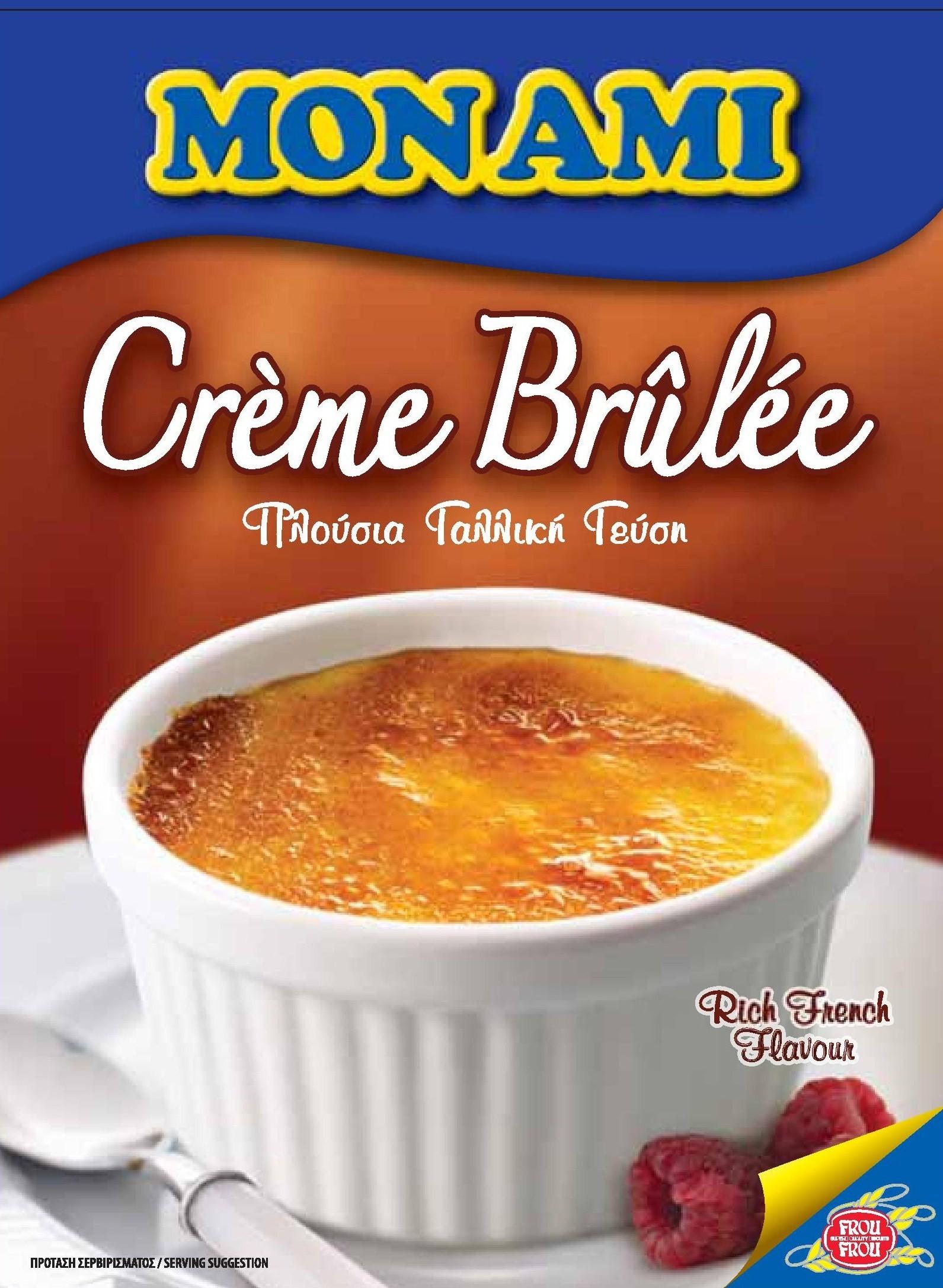 Mon Ami Creme Brulee Powder Mix 200g