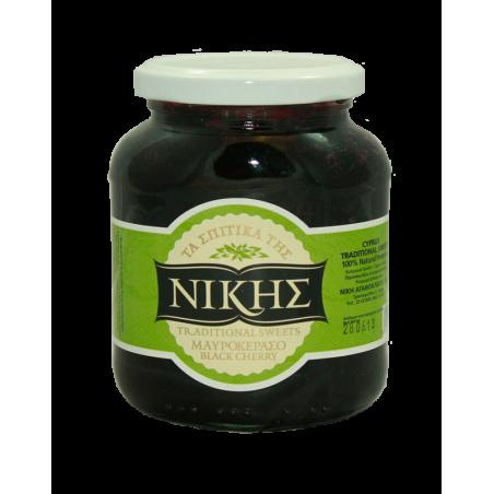 Nikis Black Cherry Spoon Sweet Glyko 470g